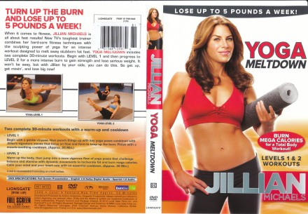 Yoga Meltdown DVD Case